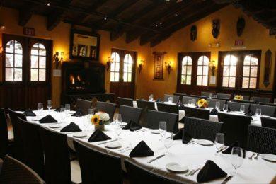 Rehearsal Dinner - Mozambique Dining Room Laguna Beach