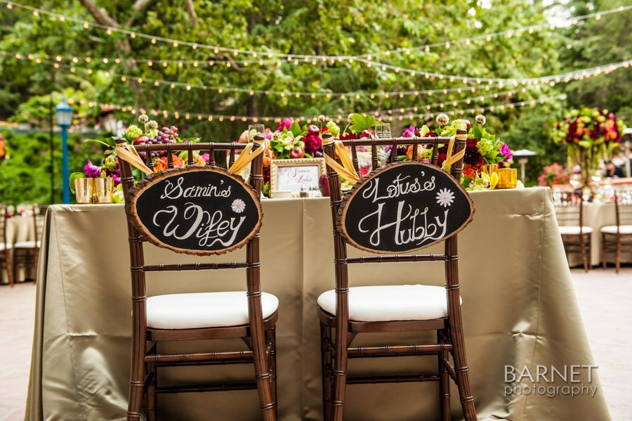 Sweethear Table at Rancho Las Lomas, Barnet Photography