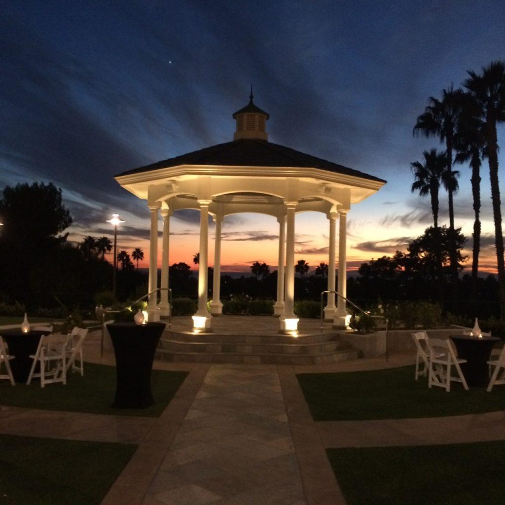 Newport Beach Marriott Hotel & Spa - Rose Garden Sunset