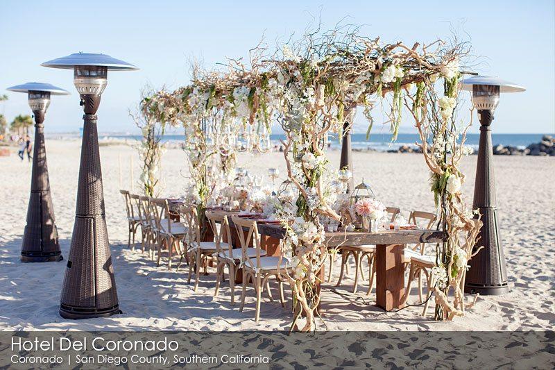 Hotel Del Coronado San Diego_Head Table Beach