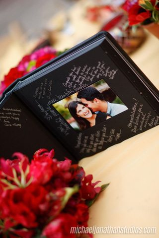 Engagement shoot guestbook - Michael Jonathan Studios