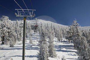 Ski lift Lake Tahoe