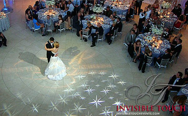 First-Dance Invisible Touch Events