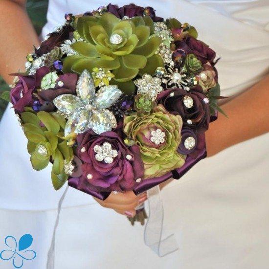 Blue Petyl Bouquets