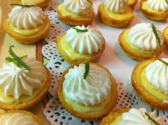 Key lime tartlets- Chef Debby - Private Chef