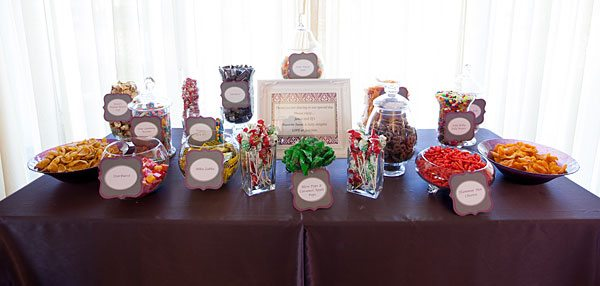 Candy Bar - Photography by: Frank Salas Photography