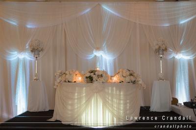 Lighting Illuminates Soft Folds. Image provided by Lawrence Crandall Photography