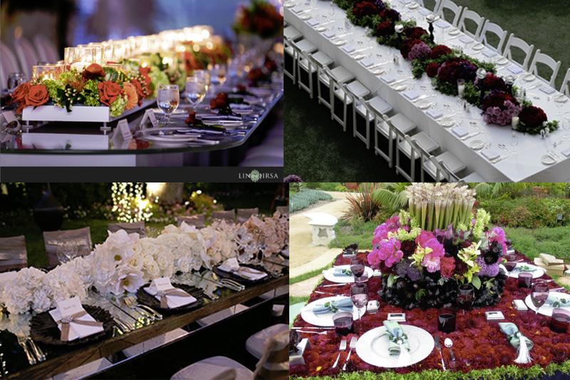 Classy Table Swags - WeddingCompass.com