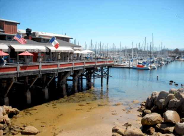 While visiting Monterey, stroll along the beach or admire boats at the marina.
