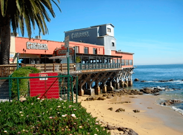 Enjoy a fresh fish dinner overlooking Monterey Bay.