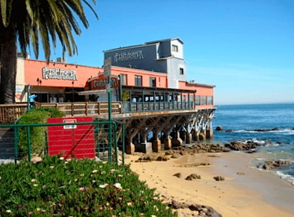 Enjoy a fresh fish dinner overlooking Monterey Bay.