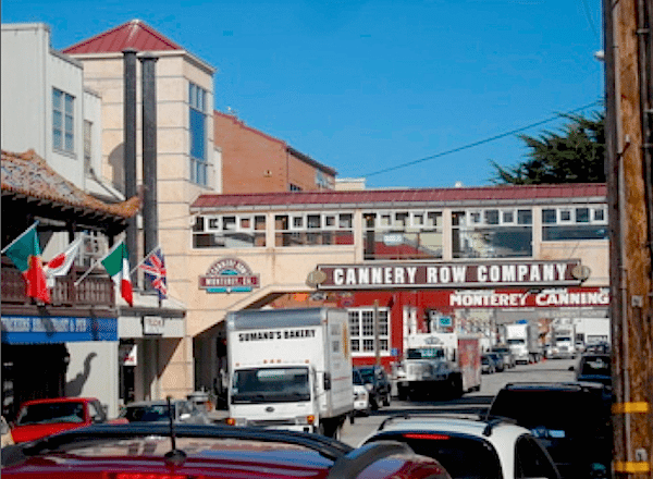 Cannery Row in Monterey offers shopping, entertainment and plenty of culinary options.