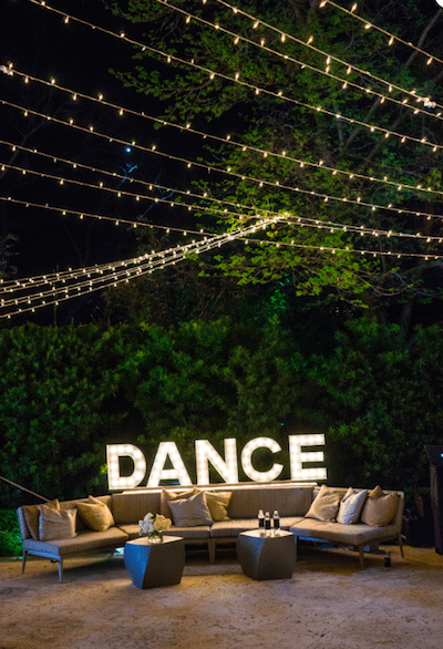 Invite guests to dance the night away. Photography by Robert Evans Studios
