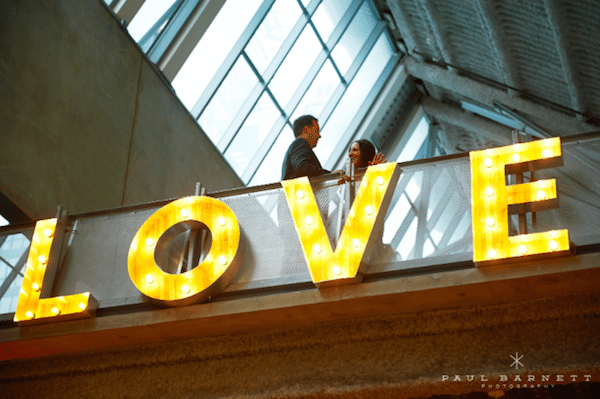 Love is in the air. Planning and design: Organics Elements Photography by Paul Barnett