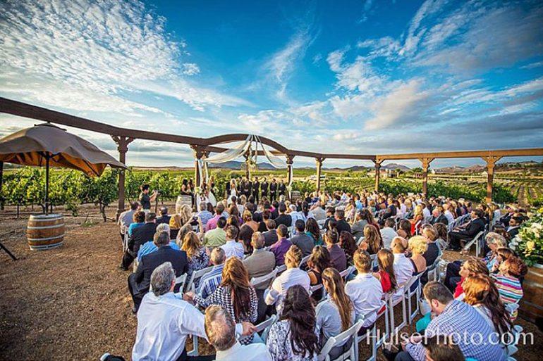 Winery Weddings Featured California
