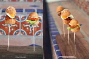 Mini Bites - mini sandwiches - 24carrots - weddingcompass.com