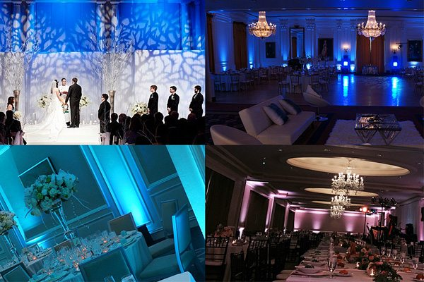 Reception lighting - Atmosphere Events