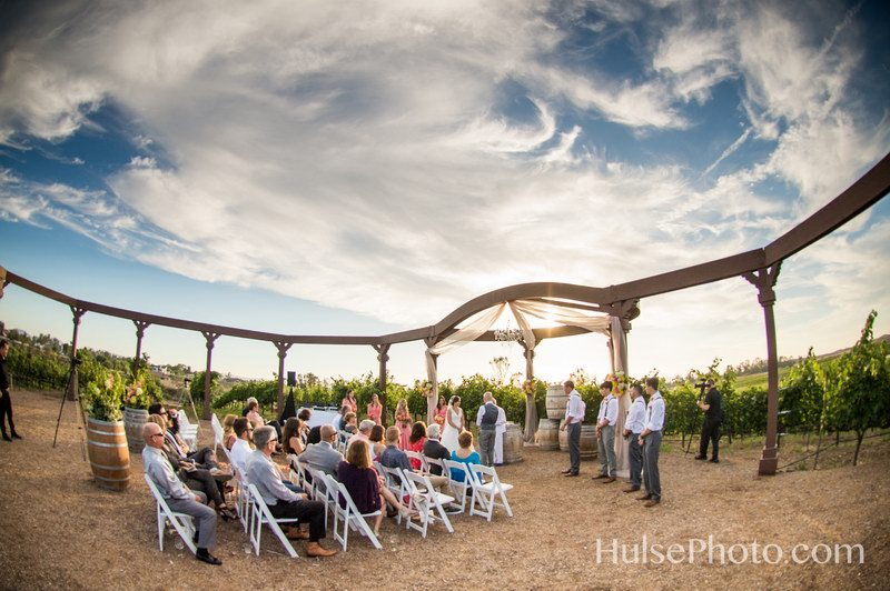 Winery Wedding HulsePhoto.com