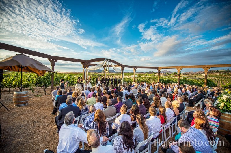wilson-creek-wedding - Winery Weddings - WeddingCompass.com