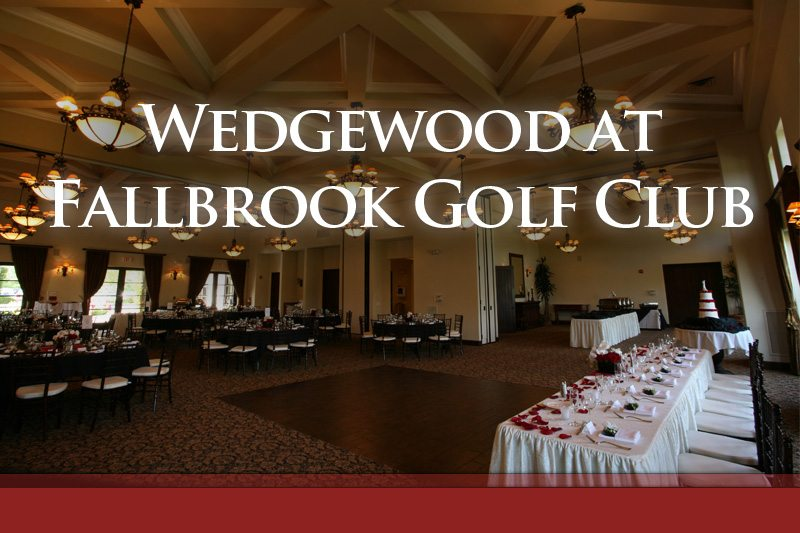 Wedgewood At Fallbrook Golf Club Wedding Compass