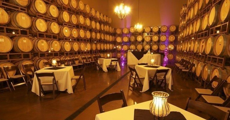 Wilson Creek Winery - WeddingCompass.com - Barrel Room