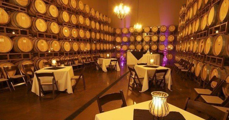 Wilson Creek Winery Barrel room Wine Room Bnnquet Room