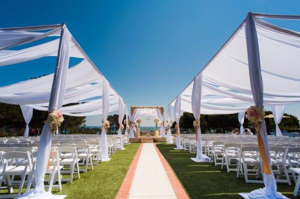 Laguna Cliffs Marriott - Outdoor wedding ceremony