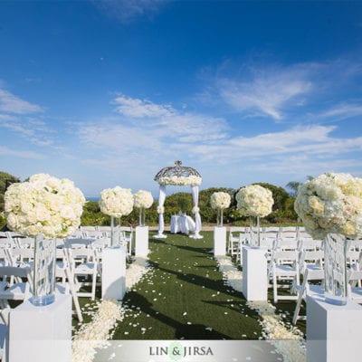 Laguna Cliffs Marriott - Outdoor Wedding