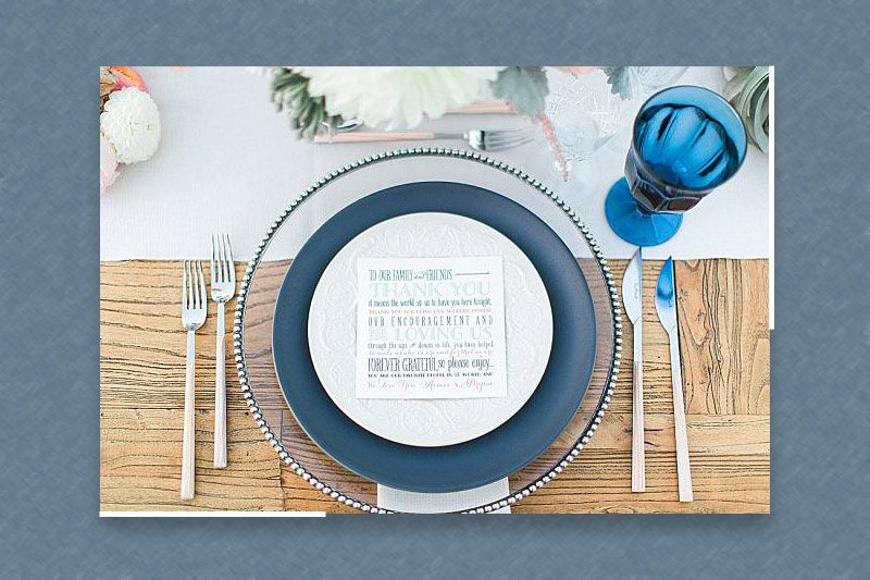 The Art of Setting a Table