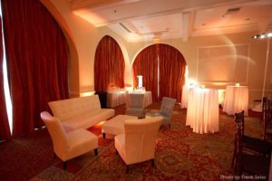 Reception Lounge - Photo by Frank Salas