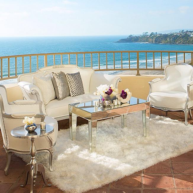 This posh and sophisticated lounge offers guests a glamorous seating area as they overlook the coastal view. - Kevin Covey - Christine Bentley - Reception Lounge