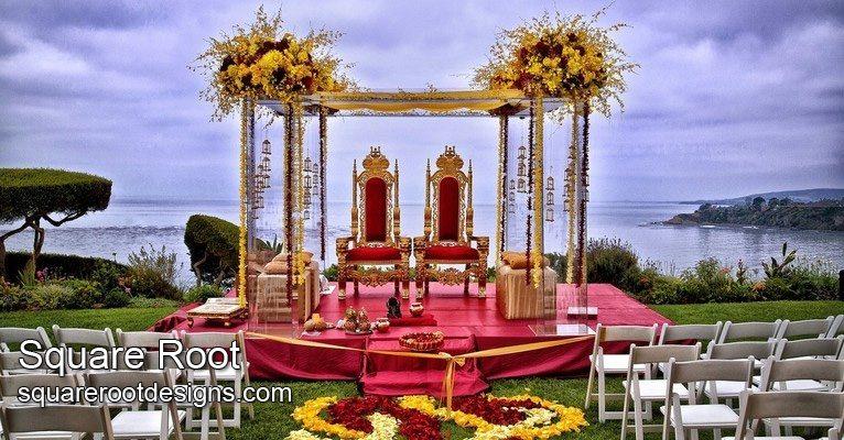 SquareRoot - Bollywood - Ceremony - WeddingCompass.com
