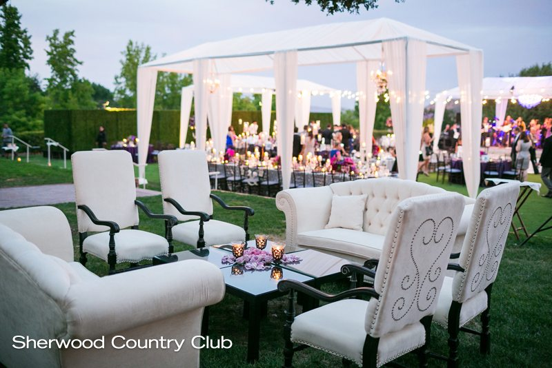 Sherwood Country Club - Reception Lounge