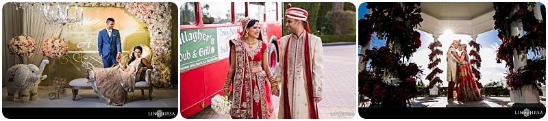 Akeena & Vishal - 3-Up - LIN & JIRSA - WeddingCompass.com - Real Weddings Project