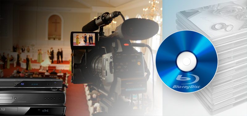 Blu-Ray disc wedding video, Blu-Ray Players
