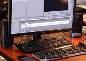 Computer Editing Station - WeddingCompass.com
