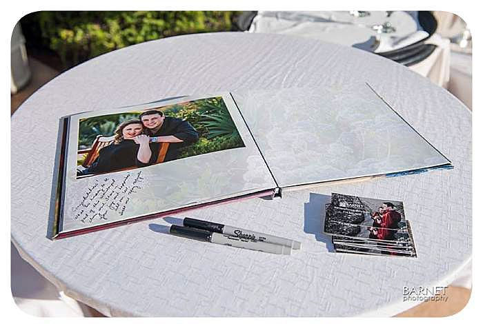 Barnet Photography Engagement Photo Guest Book