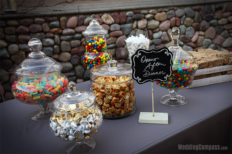 Candy Station - weddingcompass.com - Dove Canyon Courtyard