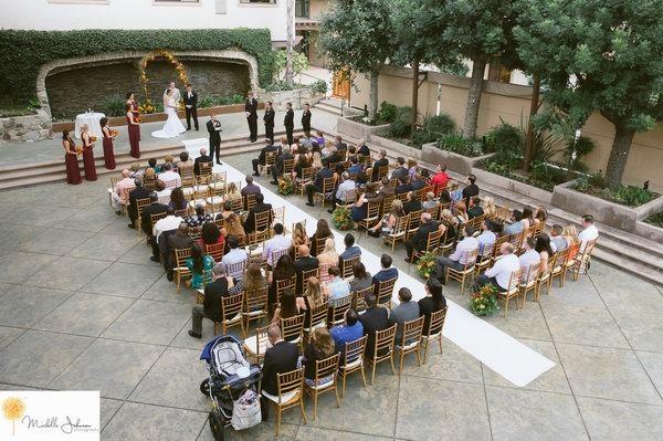 real Wedding - Doubletree Claremont - Michelle Johnson Photography - WeddingCompass.com