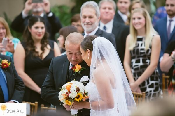 real Wedding - Doubletree Claremont - Michelle Johnson Photography - WeddingCompass.com