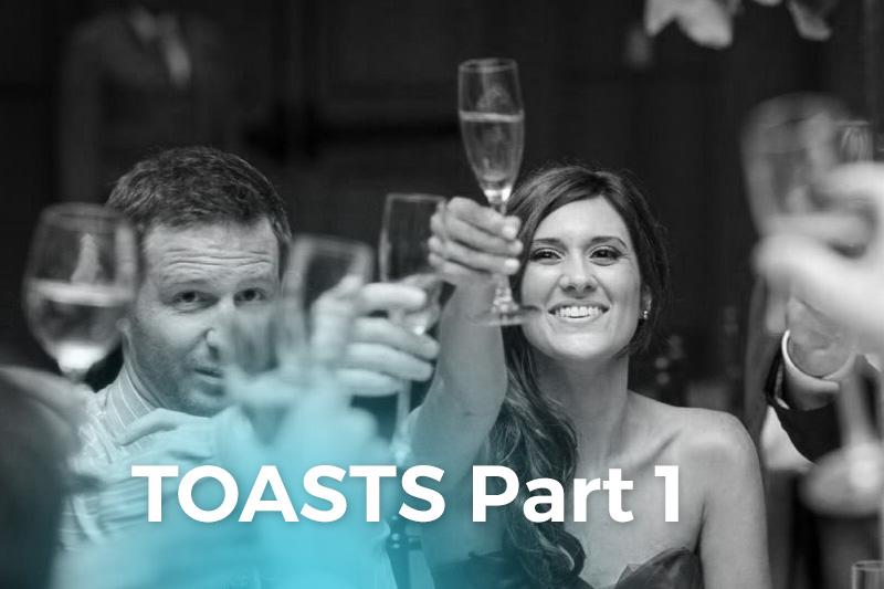 Wedding Reception & Rehearsal Dinner Toasts PT1 - WeddingCompass.com