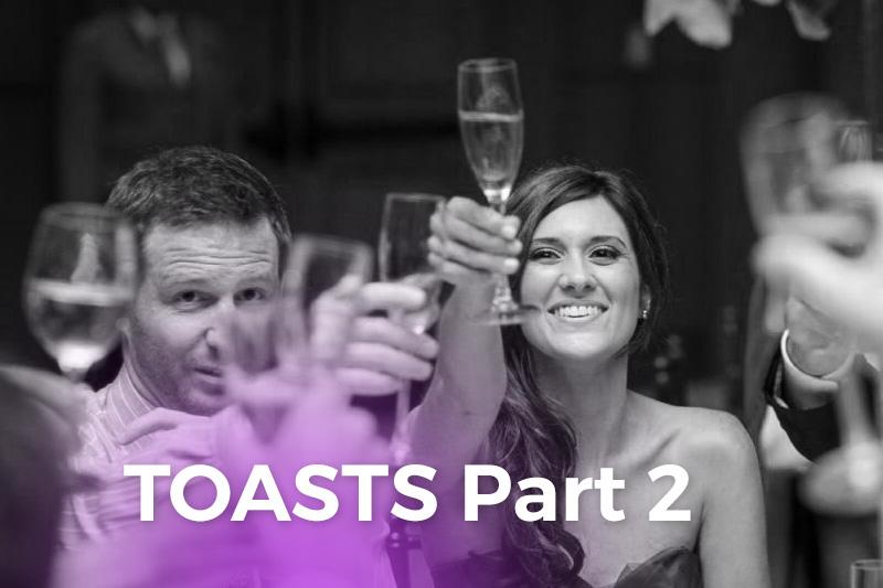 Wedding Reception & Rehearsal Dinner Toasts PT2 - WeddingCompass.com