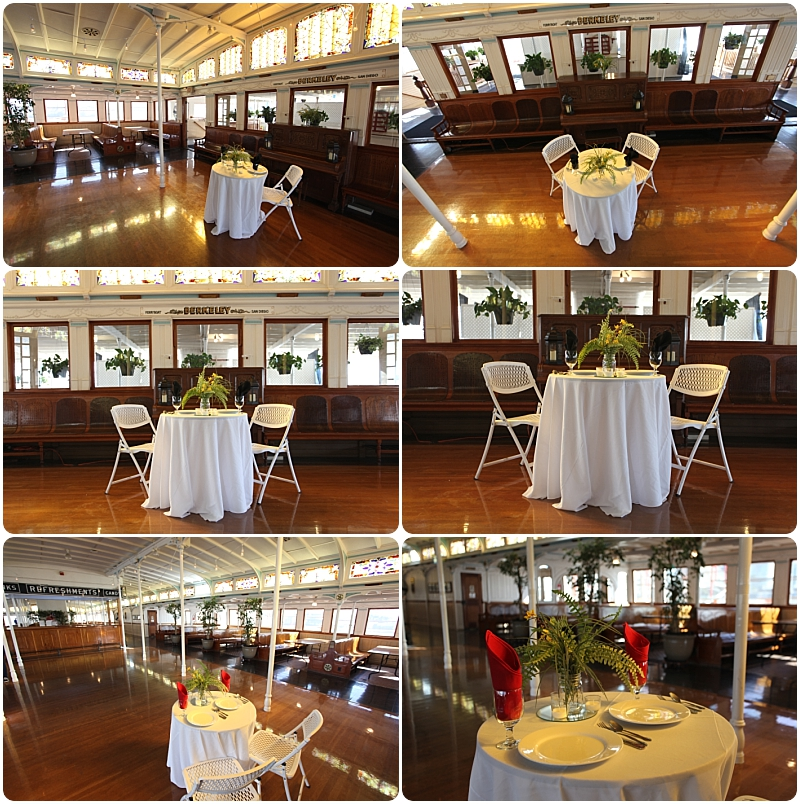 Maritime Museum San Diego - WeddingCompass.com - Sweetheart Table