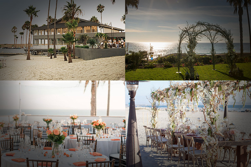 Beach Wedding Receptions in Southern California - WeddingCompass.com