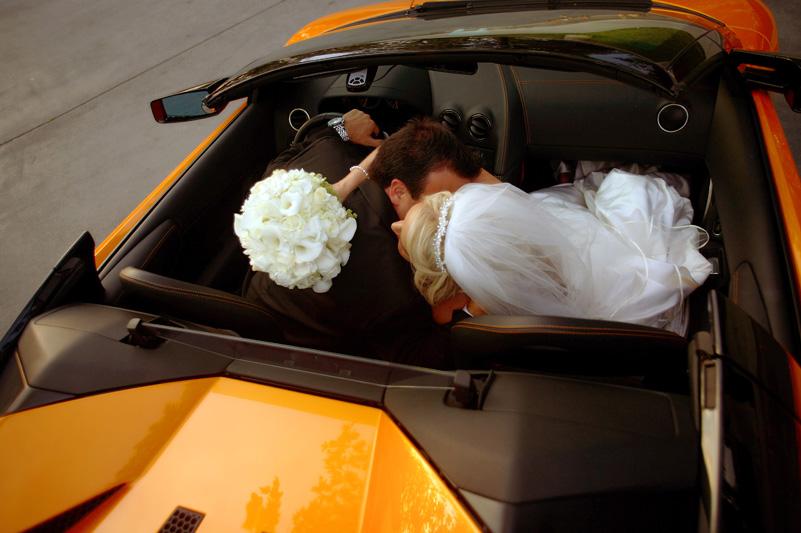 weddingcompass.com - BobOrtiz - Lamborghini - Groom