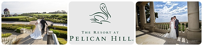 Kelsey & Matthew - Summer wedding - The Resort at Pelican Hill - Barnet Photography - WEddingCompass.com