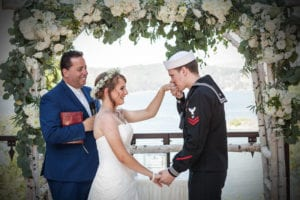 Jessica & Joshua celebrated their wedding day in June at the beginning of the summer up at the Lake Arrowhead Resort and Spa in San Bernardino County. Beautiful photography was provided by the team at Love One Another Photography who specializes in these outdoor Lake Arrowhead weddings.