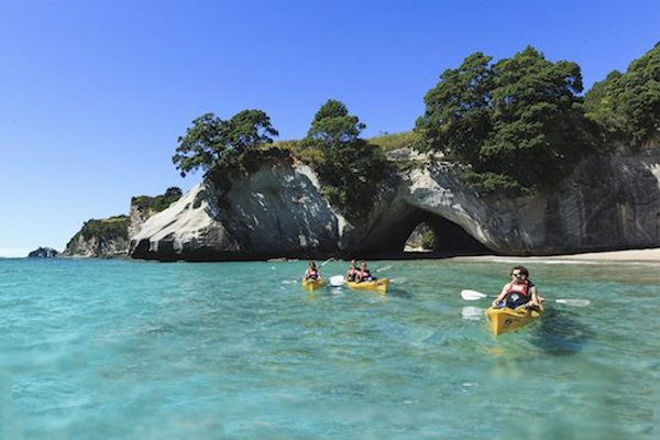 AK37-Cathedral-Cove-Coromandel-Adam-Bryce2 - Kayak Adventures in New Zealand