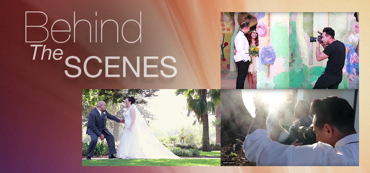 Behind The Scenes Photography - WeddingCompass.com