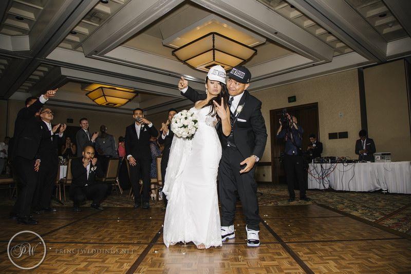 Pamela and Ryan - Real Wedding - Prince Weddings - WeddingCompass.com - 800x533